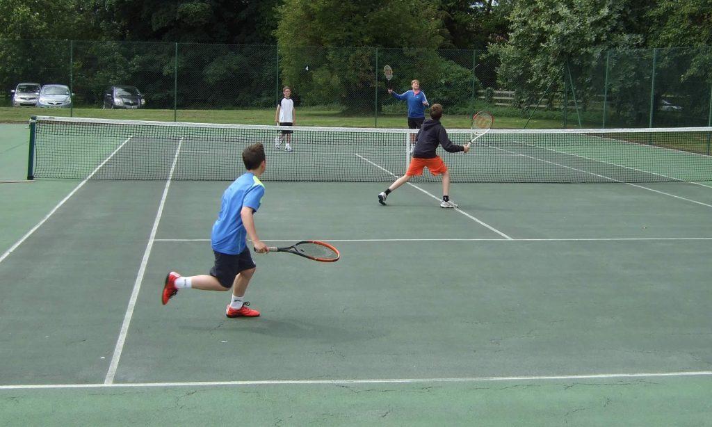 coaching at great ayton tennis club