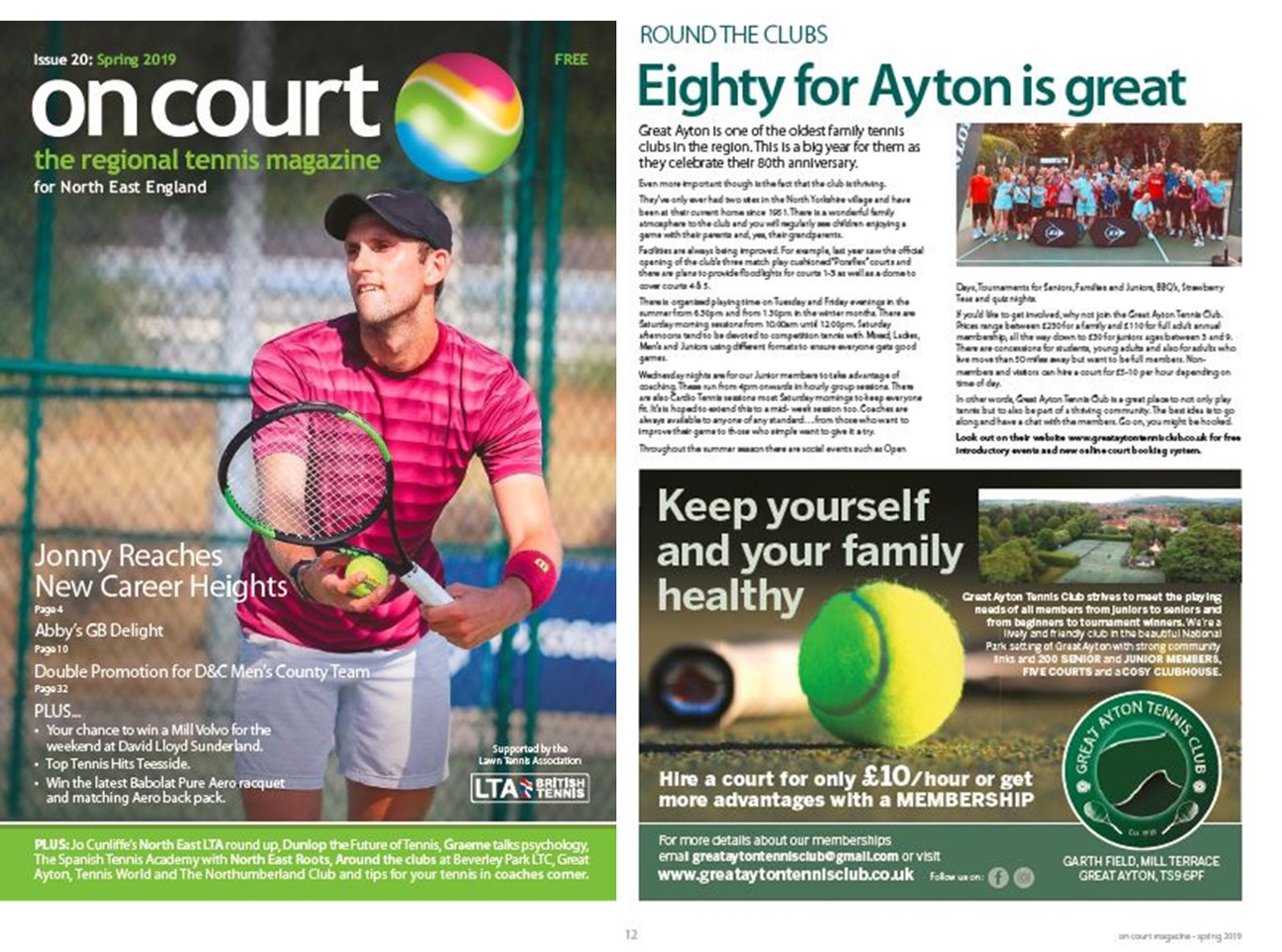 On Court Magazine