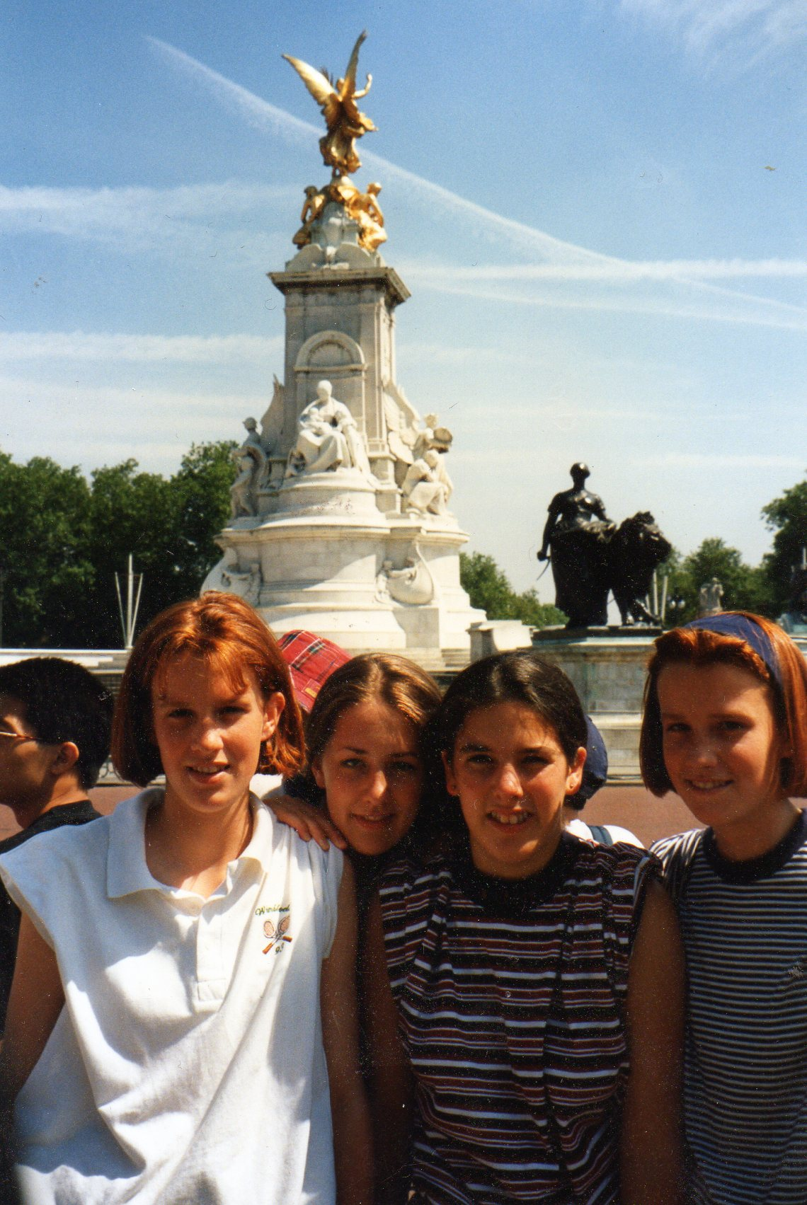 GA Junior Team Visit to London about 1992